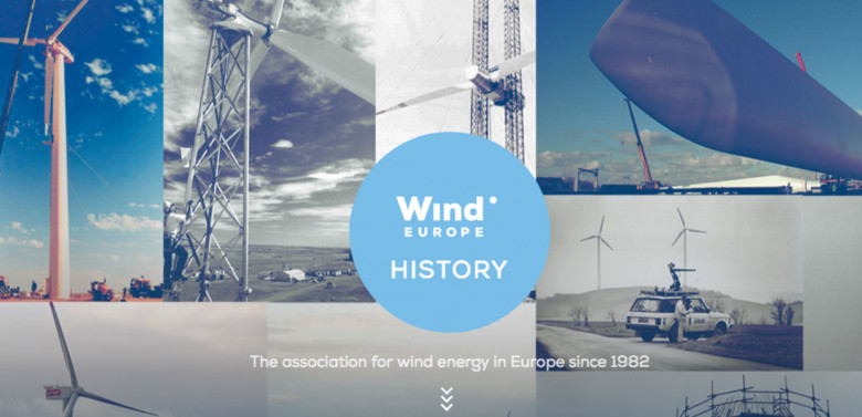 History of Europe's wind industry